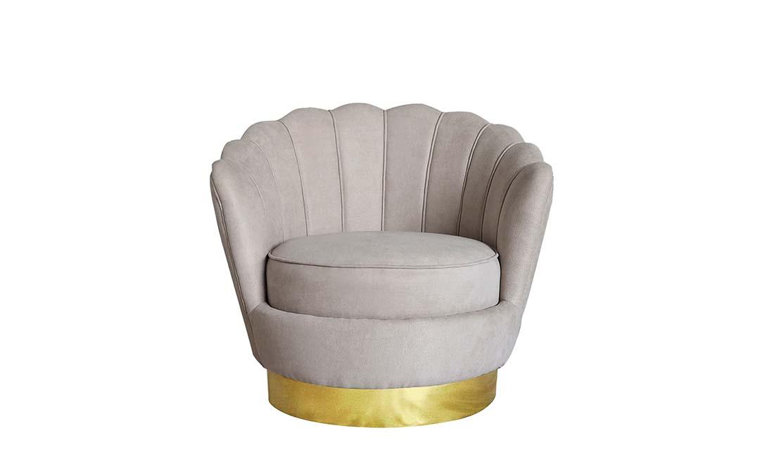 Кресло Шелли бежевый
